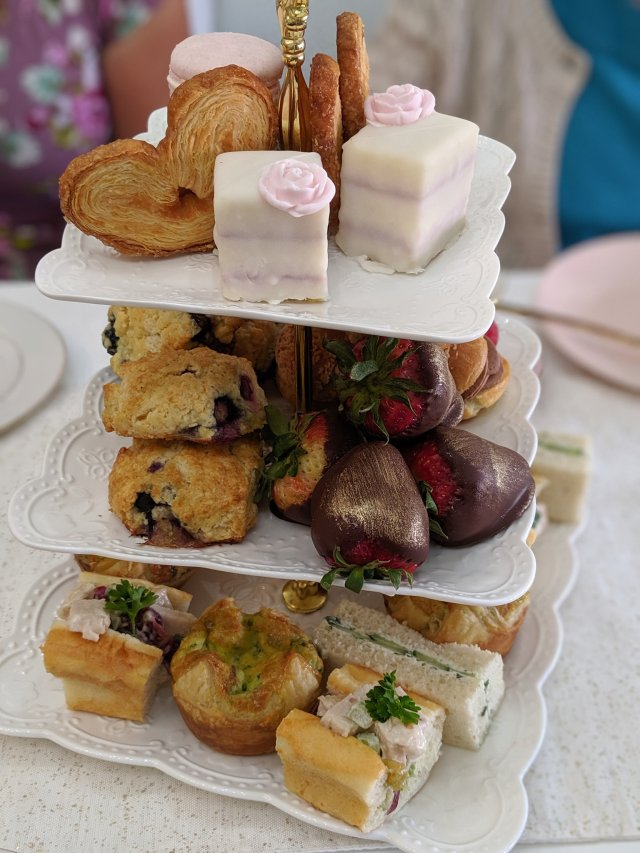 tea party 2019 food